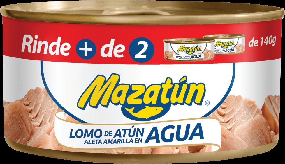 Lomo de atún enlatado en agua XL