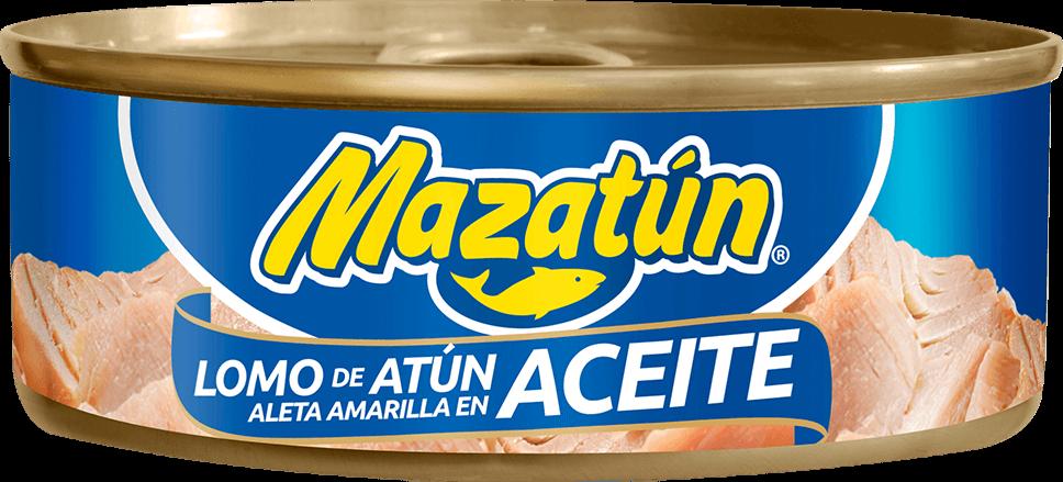 Lata de Atún en aceite Mazatún