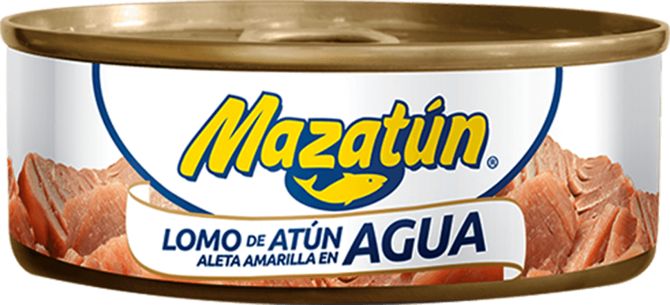 Atún aleta amarilla en agua