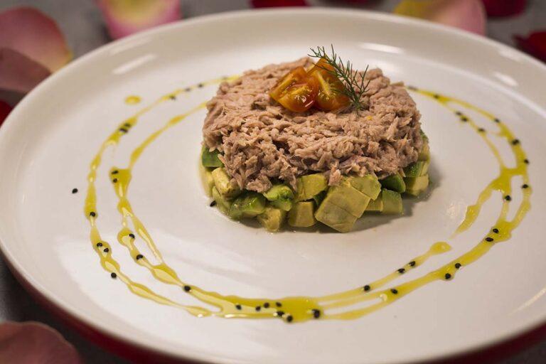 Delicioso Tartar de atun