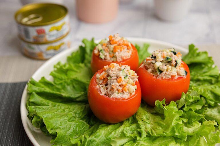 Tomates Relleno con atún